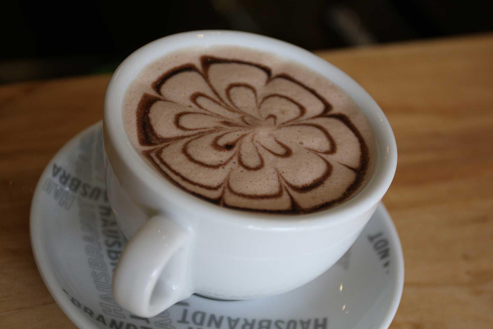 Enjoy Hausbrandt coffee on island apartments, cafe & bar, on Pefki beach, North Evia, Greece