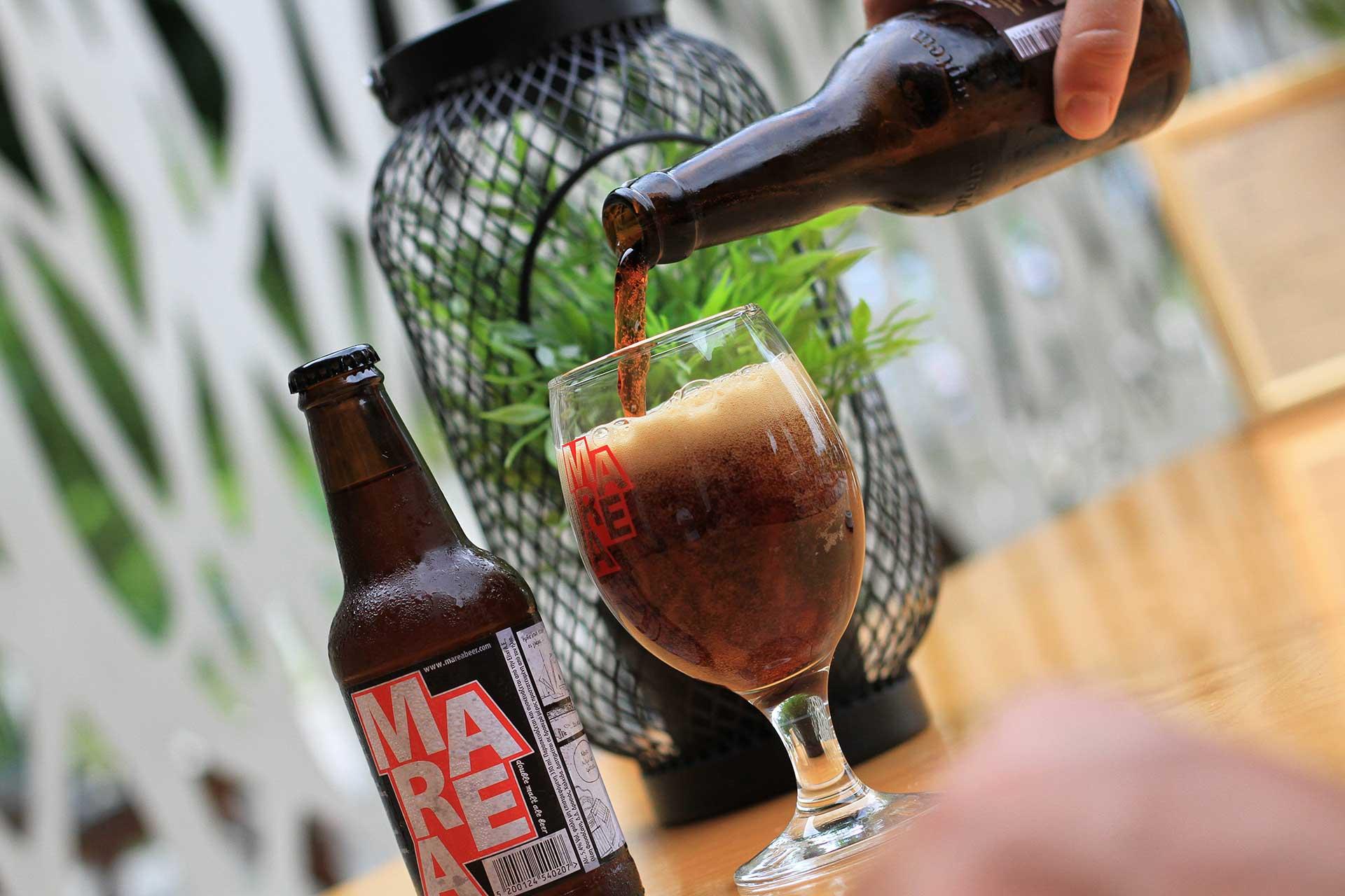 island - enjoy Marea beer on Pefki, Artemisio, North Evia, Greece